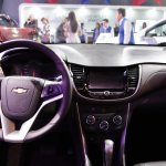 2017 Chevrolet Tracker dashboard at 2016 Bogota Auto Show