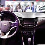 2017 Chevrolet Tracker dashboard at 2016 Bogota Auto Show