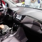2017 Chevrolet Tracker interior at 2016 Bogota Auto Show