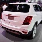 2017 Chevrolet Tracker rear three quarters at 2016 Bogota Auto Show
