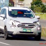 2017 Ford EcoSport (facelift) Brazil spy shot