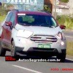2017 Ford EcoSport (facelift) exterior spy shot Brazil