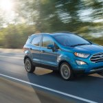 2017 Ford EcoSport (facelift) front three quarters