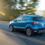 2017 Ford EcoSport (facelift) rear three quarters