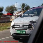 2017 Ford EcoSport (facelift) spy shot Brazil