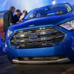 2017 Ford EcoSport grille unveiled live