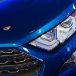2017 Ford EcoSport headlamp unveiled live
