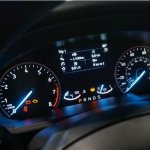 2017 Ford EcoSport instrument cluster unveiled live