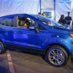 2017 Ford EcoSport side unveiled live