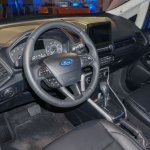 2017 Ford EcoSport steering wheel unveiled live