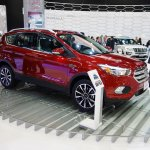 2017 Ford Escape front three quarters right side at 2016 Bogota Auto Show