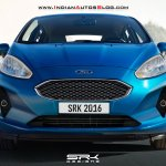 2017 Ford Fiesta front-end rendering