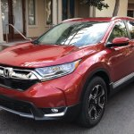 2017 Honda CR-V front live image