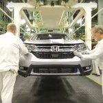 2017 Honda CR-V production begins in East Liberty