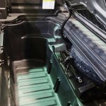2017 Honda Ridgeline storage space at 2016 Bogota Auto Show