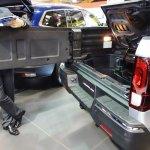 2017 Honda Ridgeline tailgate at 2016 Bogota Auto Show