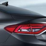 2017 Hyundai Grandeur rear fascia
