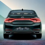 2017 Hyundai Grandeur rear