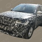 2017 Jeep Compass front three quarters spy shot