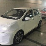 2017 Kia Picanto side profile completely exposed