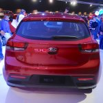 2017 Kia Rio rear at the 2016 Bogota Auto Show