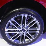 2017 Kia Rio wheel at the 2016 Bogota Auto Show