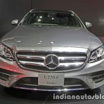 2017 Mercedes E-Class Estate front at 2016 Thai Motor Expo