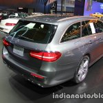 2017 Mercedes E-Class Estate rear three quarters right side at 2016 Thai Motor Expo