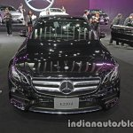2017 Mercedes E-Class front at 2016 Thai Motor Expo