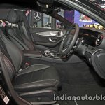 2017 Mercedes E-Class front seats at 2016 Thai Motor Expo