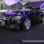 2017 Mercedes E-Class front three quarters at 2016 Thai Motor Expo