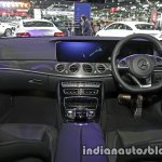 2017 Mercedes E-Class interior dashboard at 2016 Thai Motor Expo