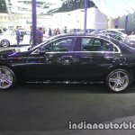 2017 Mercedes E-Class left side at 2016 Thai Motor Expo