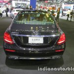 2017 Mercedes E-Class rear at 2016 Thai Motor Expo