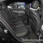 2017 Mercedes E-Class rear seats at 2016 Thai Motor Expo