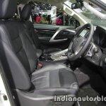 2017 Mitsubishi Pajero Sport front seats at 2016 Thai Motor Expo