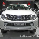 2017 Mitsubishi Triton front at 2016 Thai Motor Show