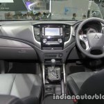 2017 Mitsubishi Triton interior dashboard at 2016 Thai Motor Show
