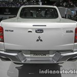 2017 Mitsubishi Triton rear at 2016 Thai Motor Show