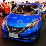 2017 Nissan Note (facelift) front at 2016 Bogota Auto Show