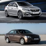 2017 Peugeot 301 vs. 2013 Peugeot 301 front three quarters right side