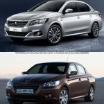 2017 Peugeot 301 vs. 2013 Peugeot 301 front three quarters