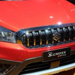 2017 Suzuki S-Cross (facelift) grille at Sao Paulo Auto Show