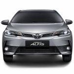 2017 Toyota Corolla Altis front Thailand