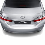 2017 Toyota Corolla Altis rear end Thailand