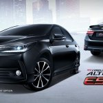 2017 Toyota Corolla Esport front and rear Thailand