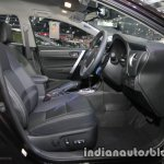 2017 Toyota Corolla front seats at 2016 Thai Motor Expo