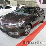2017 Toyota Corolla front three quarters at 2016 Thai Motor Expo