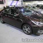 2017 Toyota Corolla front three quarters right side at 2016 Thai Motor Expo