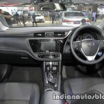 2017 Toyota Corolla interior dashboard at 2016 Thai Motor Expo